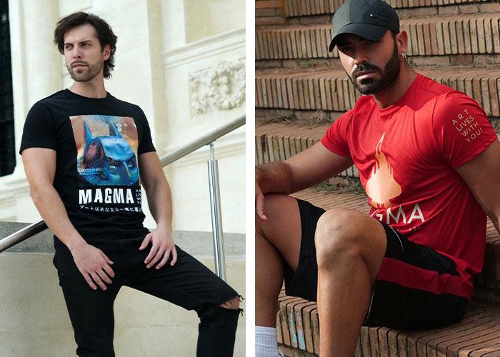 T-shirts-casual-sport-magma-company