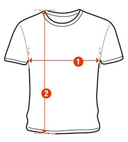 guida taglie t-shirt moda magma company